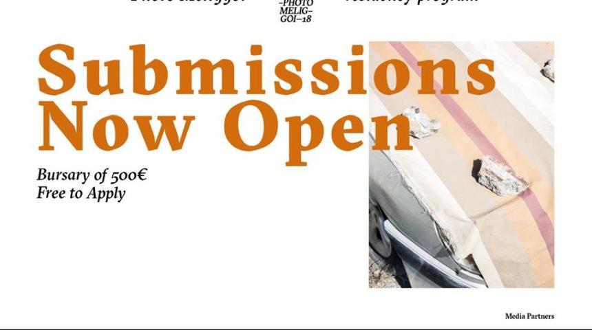 Photo Meliggoi residency program | Open Call