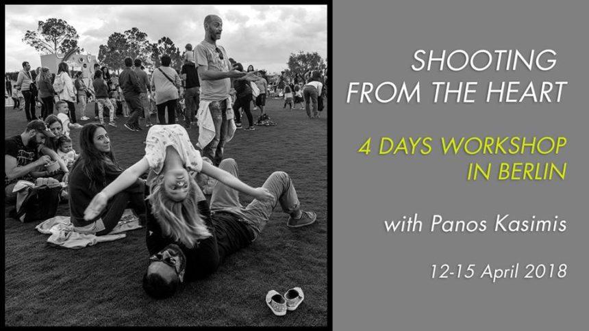 SHOOTING FROM THE HEART – Φωτογραφικό εργαστήρι τεσσάρων ημερών με τον Παναγιώτη Κασίμη στο Βερολίνο
