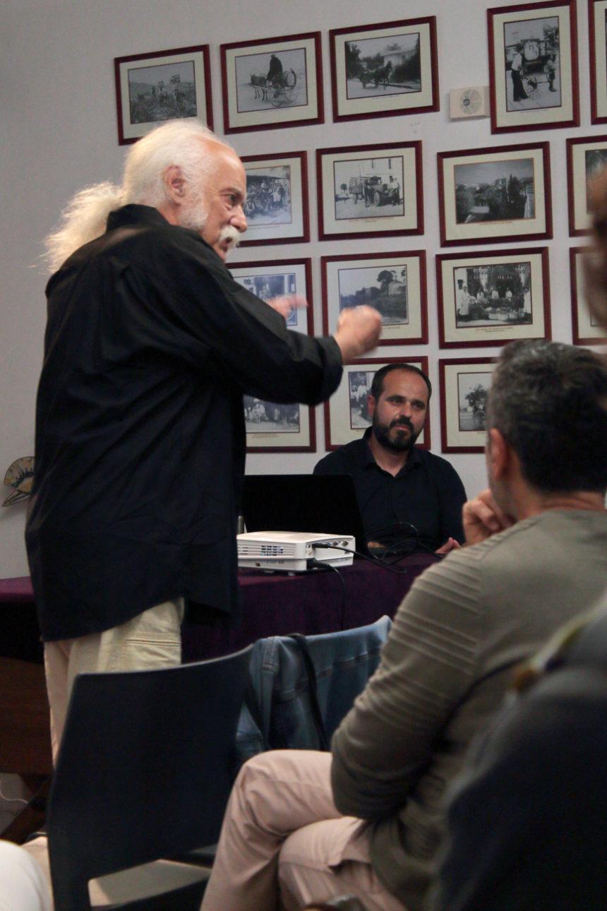 Παρουσίαση έργου Γιώργου Δεπόλλα στο Αετοπούλειο Πολιτιστικό Κέντρο