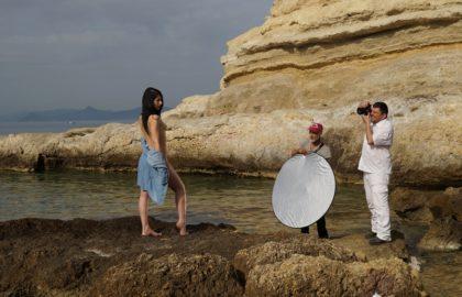 Εργαστήρι Καλλιτεχνικού Γυμνού στη θάλασσα