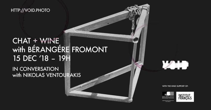 Chat & Wine with Bérangère Fromont and Nikolas Ventourakis at VOID
