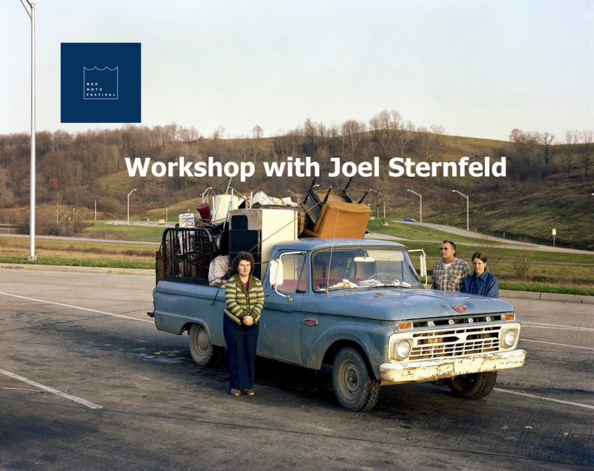 """Narrative and the Photograph"" 4ήμερο εργαστήριο με τον Joel Sternfeld | MedPhoto Festival"