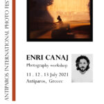 Workshop με τον Enri Canaj στο Antiparos International Photo Festival