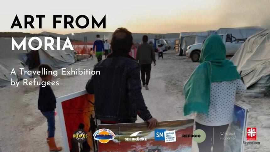 Art from Moria – A Traveling Exhibition by Refugees   Έργα προσφύγων της Μόριας εκτίθενται στο Βερολίνο