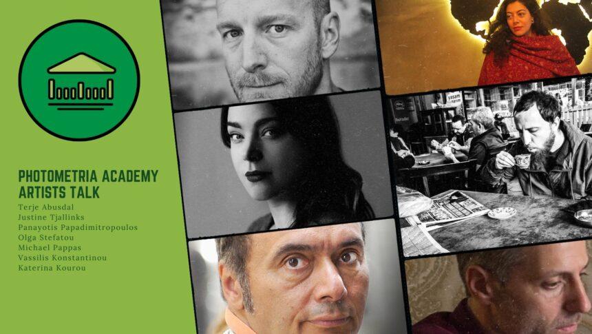 Photometria Academy: Artists Talk στο Πνευματικό Κέντρο Δήμου Ιωαννιτών
